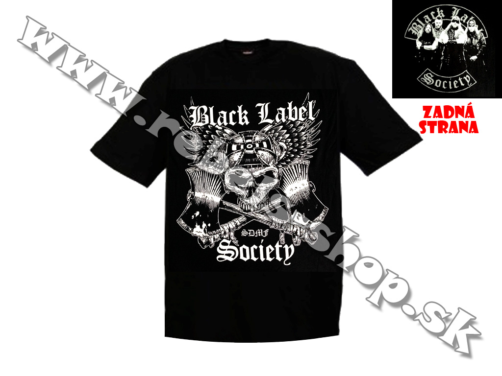 "Tričko ""Black Label Society"""