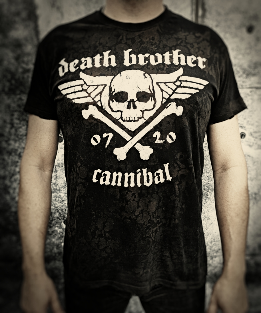 "Tričko ""Death Brother - Cannibal"""