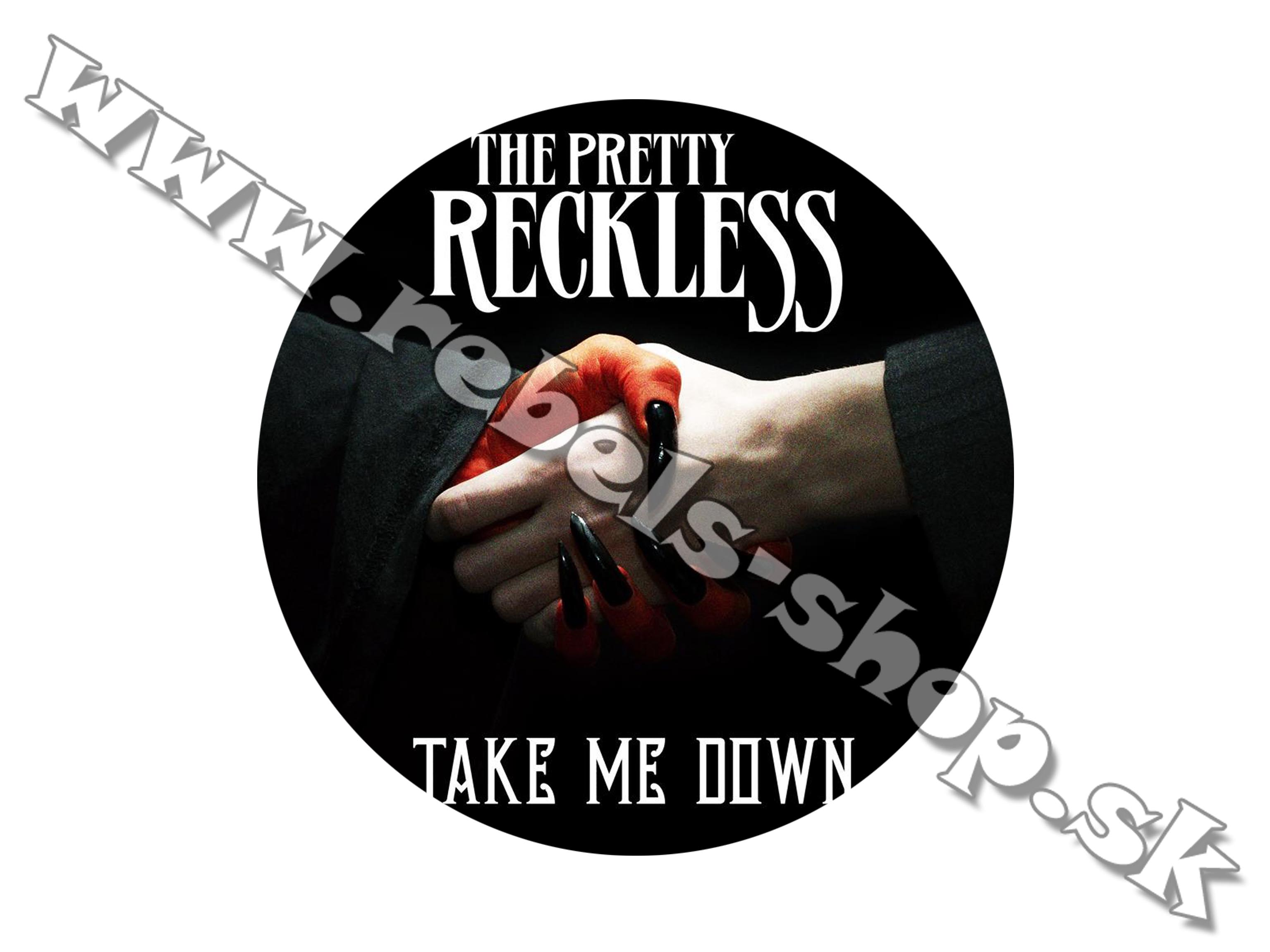 "Odznak ""The Pretty Reckless"""