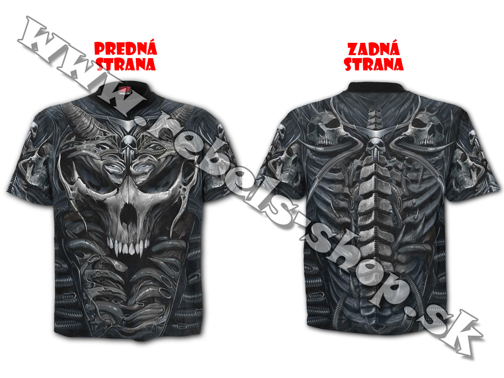 "Tričko ""Spiral Direct - SKULL ARMOUR"""