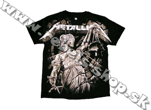 "Tričko ""Metallica - And Justice For All"""