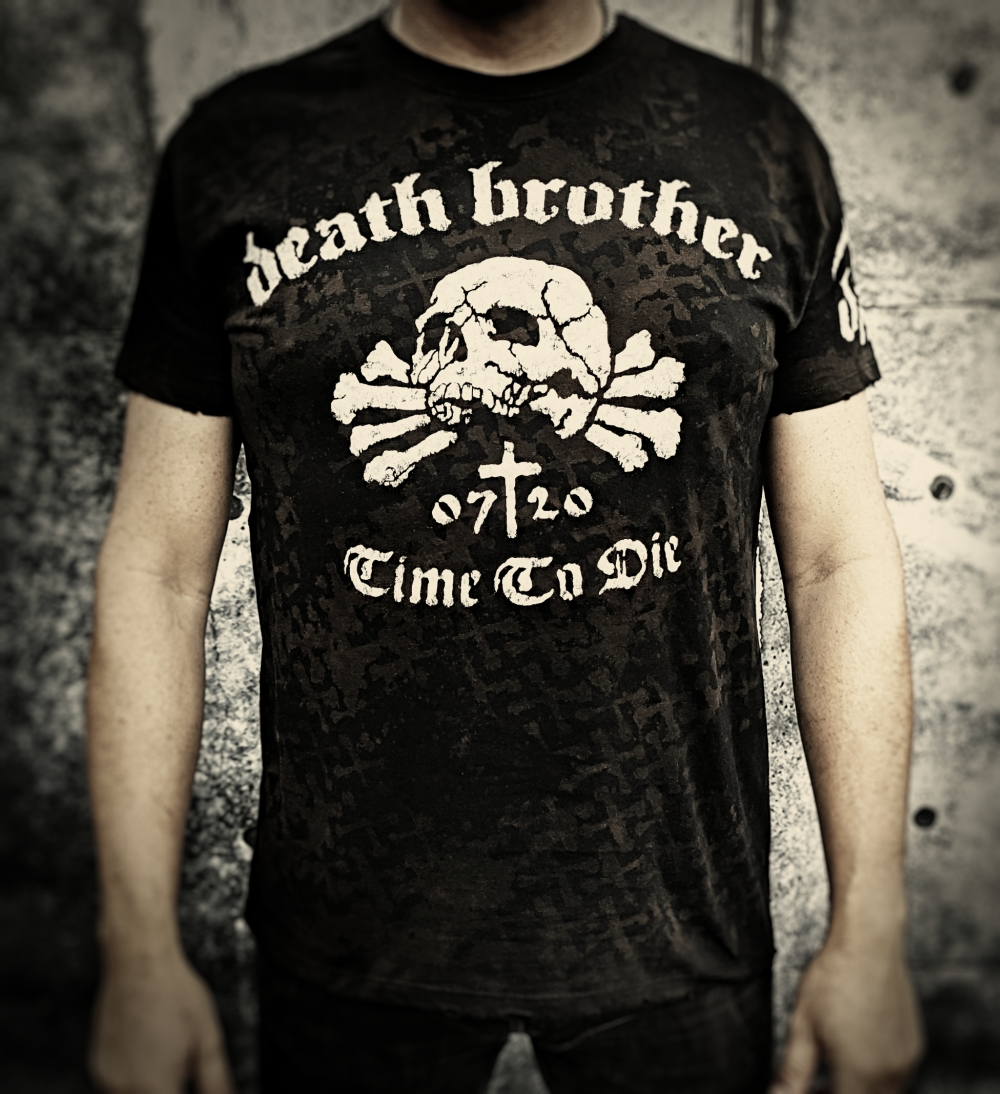 "Tričko ""Death Brother - Time To Die"""