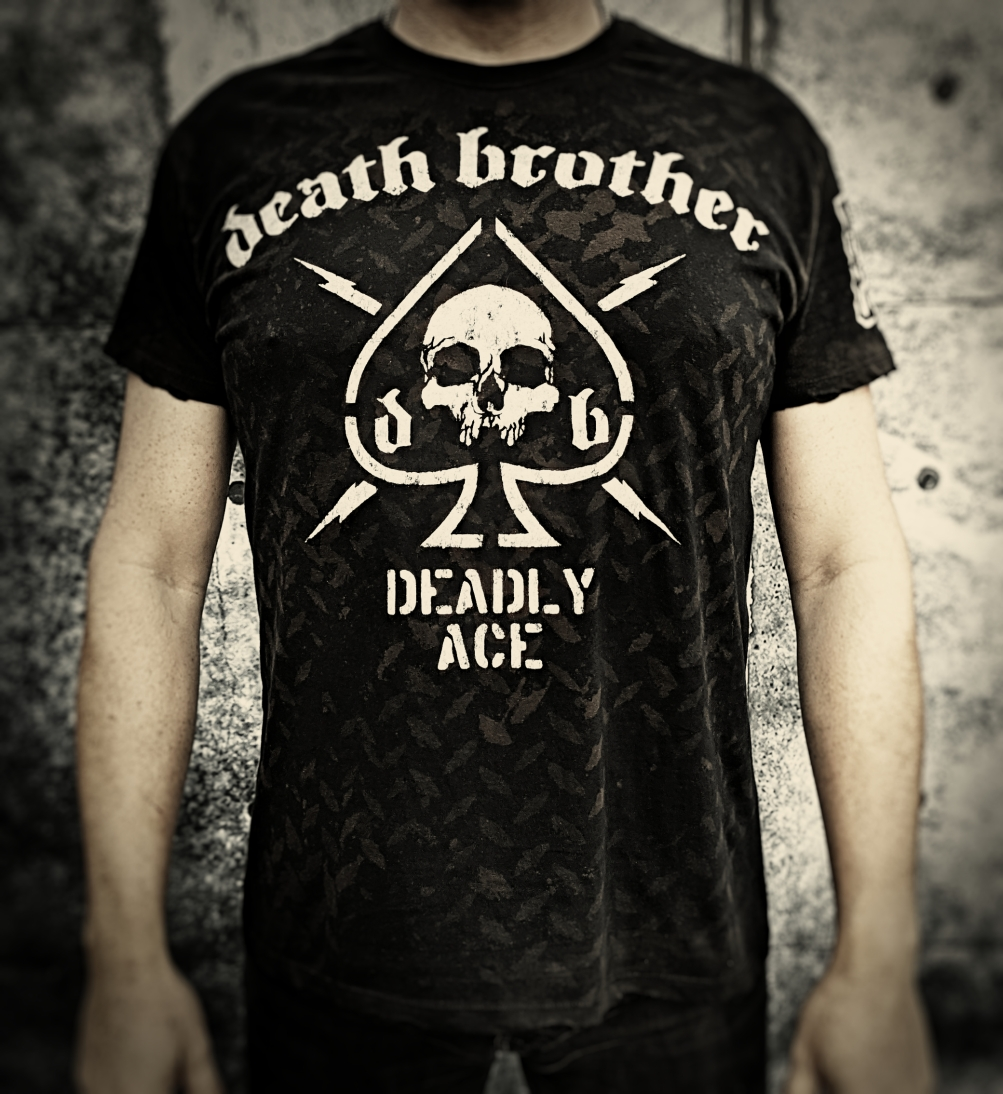 "Tričko ""Death Brother - Deadly Ace"""