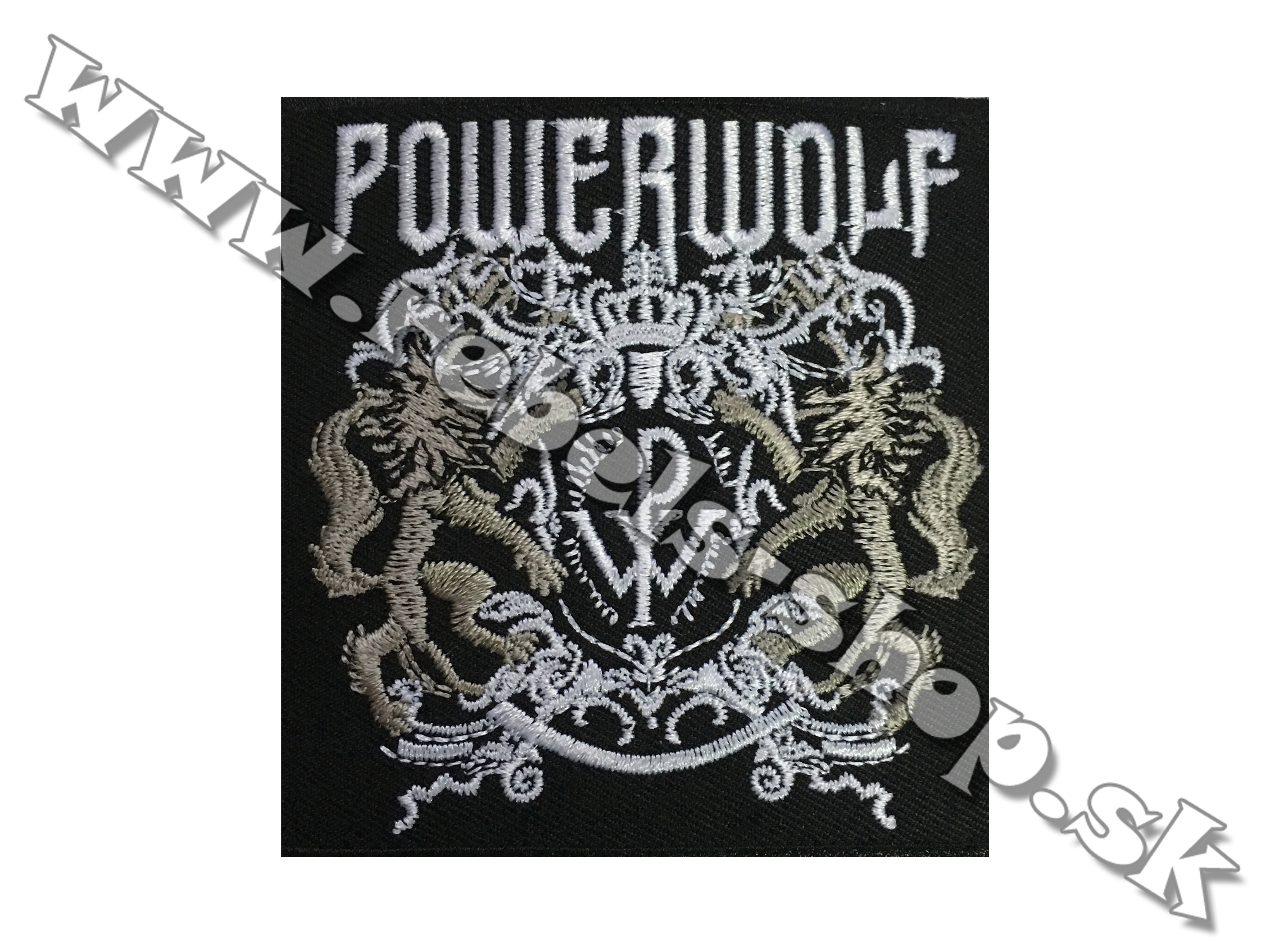 "Nášivka ""Powerwolf"""