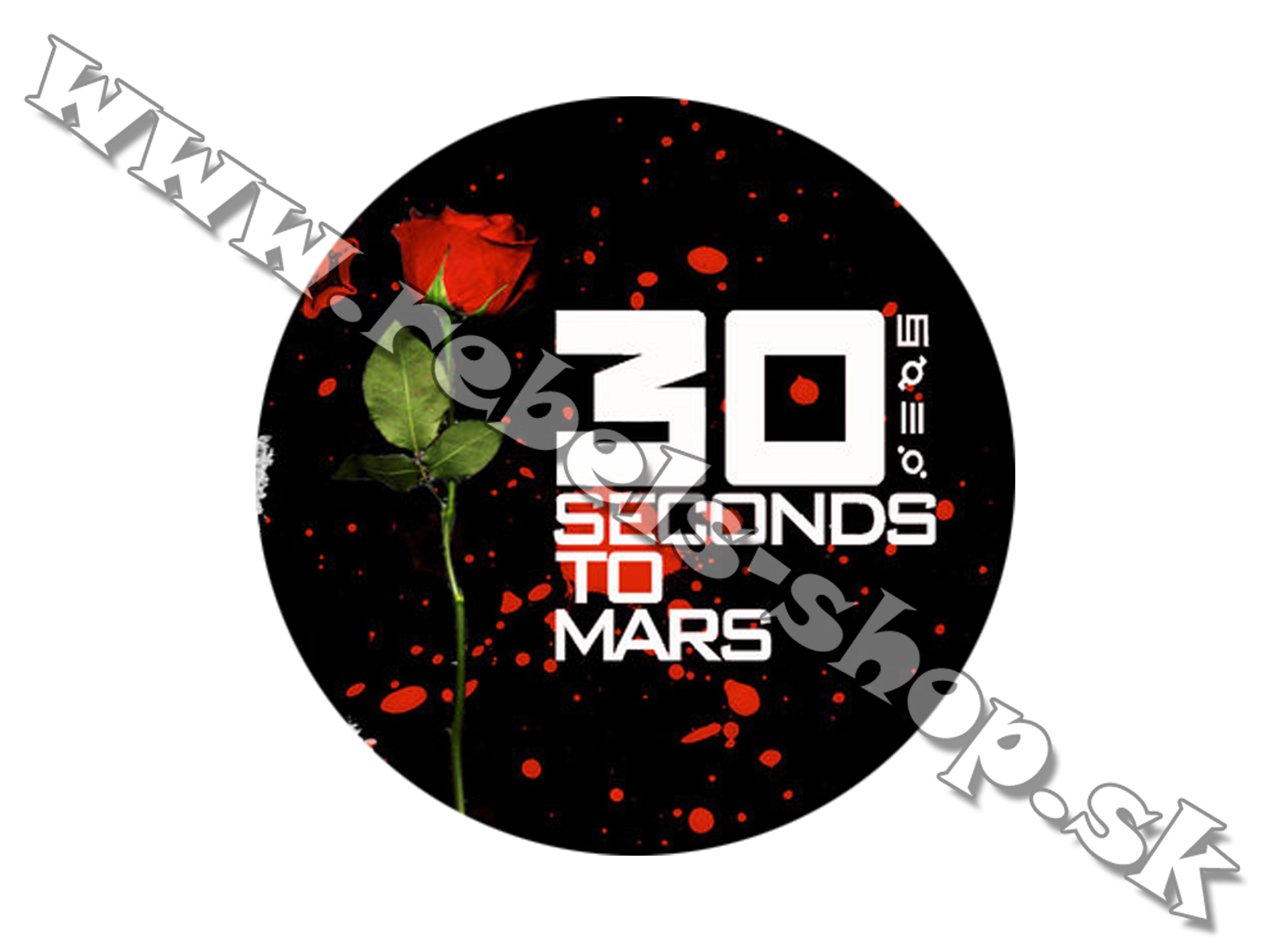 "Odznak ""30 Seconds To Mars"""