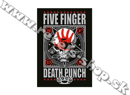"Vlajka ""Five Finger Death Punch"""